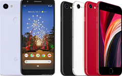 Apple and Google's budget phones face off