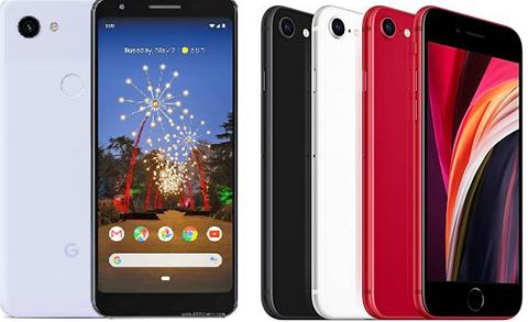 Head-to-head: Apple iPhone SE vs. Google Pixel 3a