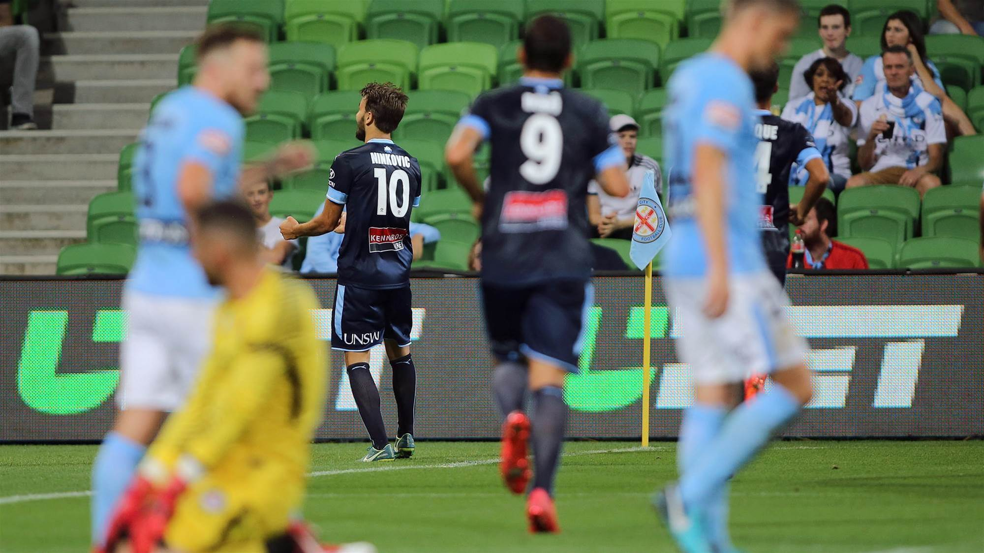 Crushing Melbourne City not enough for Zullo