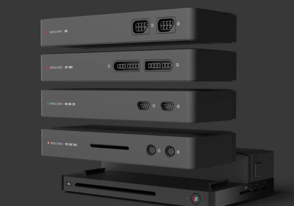 The Polymega is a modular retro console that can play all your old games in one place