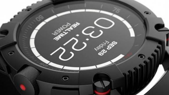 The PowerWatch X is a smartwatch that never needs charging