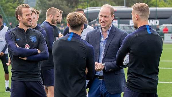 England get a Royal seal of approval
