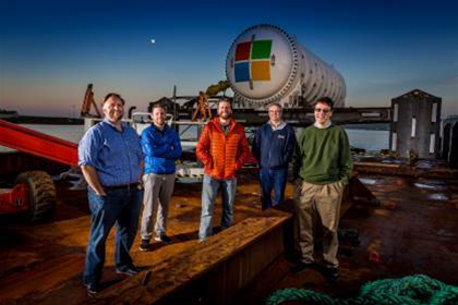 Microsoft drops a clean energy datacentre into the North Sea