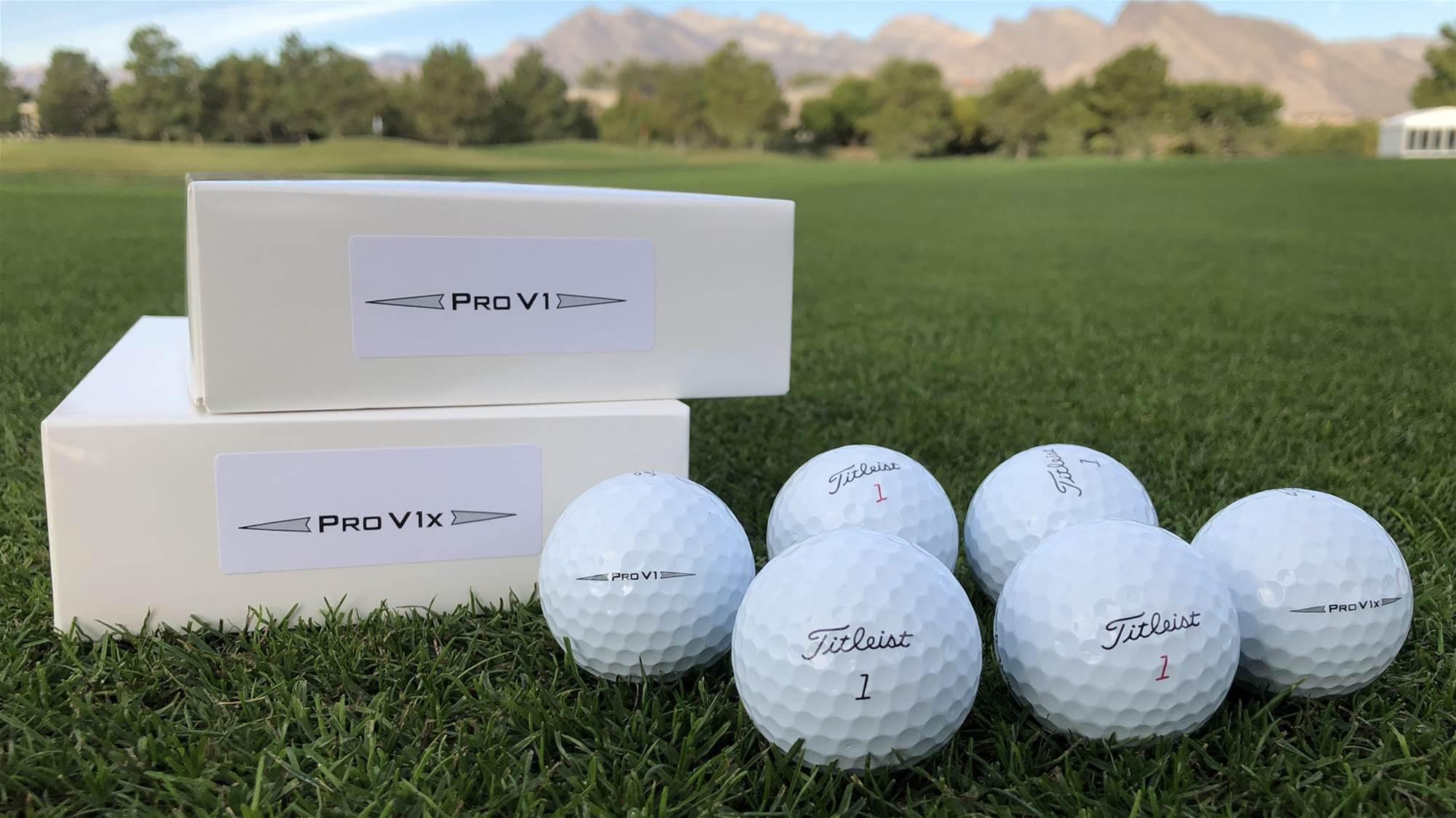 New Titleist Pro V1 and Pro V1x arrive on Tour