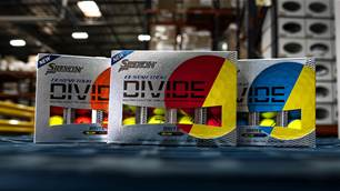 Start seeing double with Srixon Q-Star Tour Divide