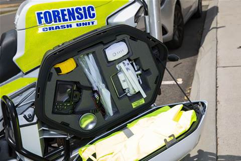 Полиция Qld использует беспилотники для картирования мест аварий