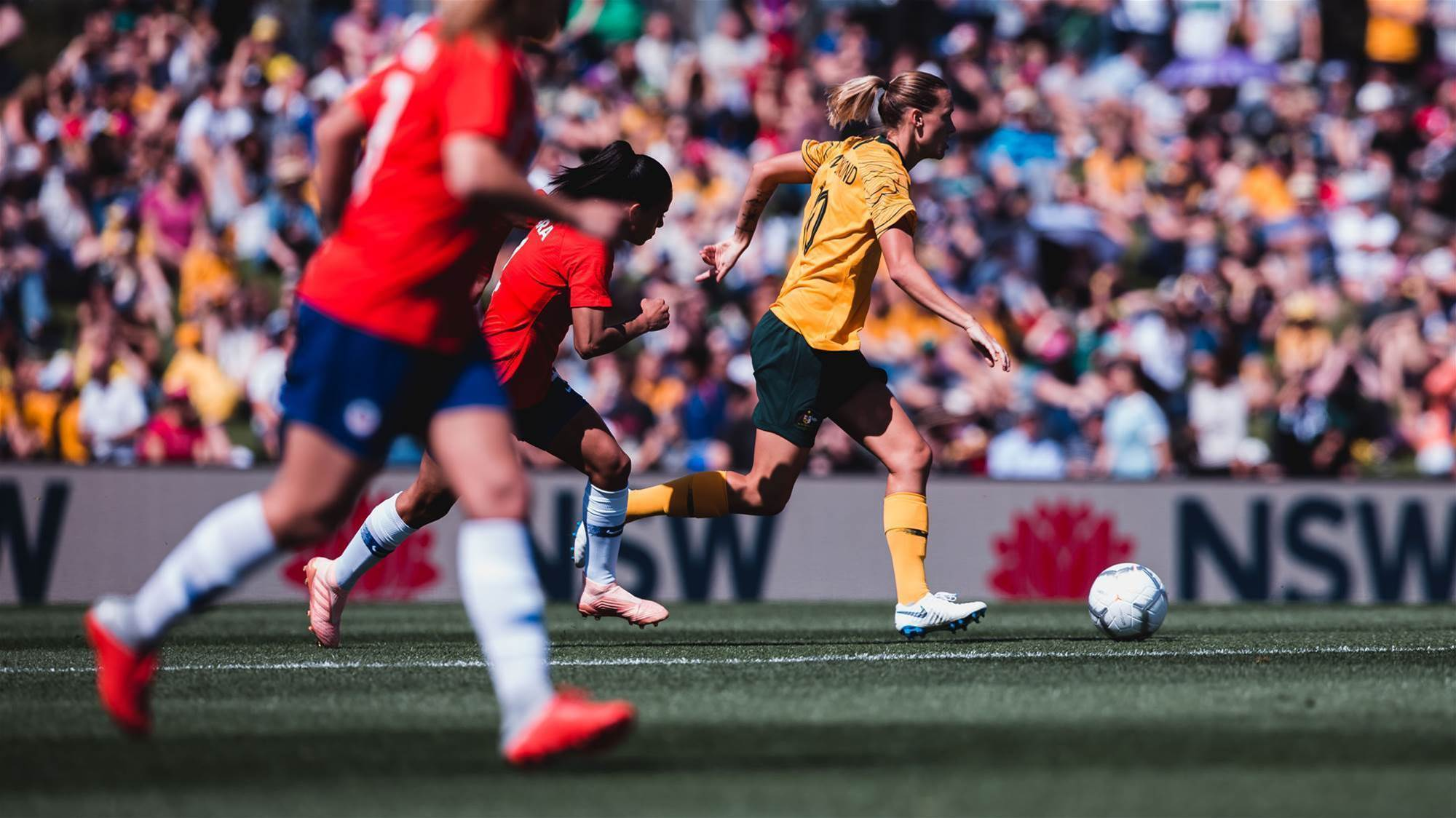 Endler stars as Chile stun Matildas