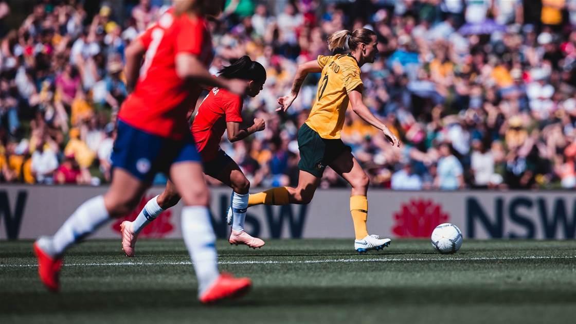 Endler stars as Chile stun Matildas