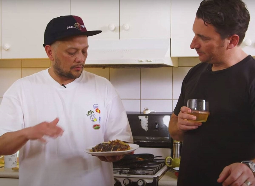 raph rashid's online cooking show is all about the daggy classics