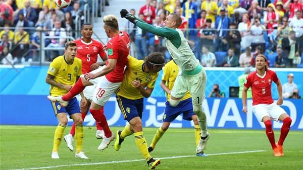 Sweden v Switzerland - player ratings