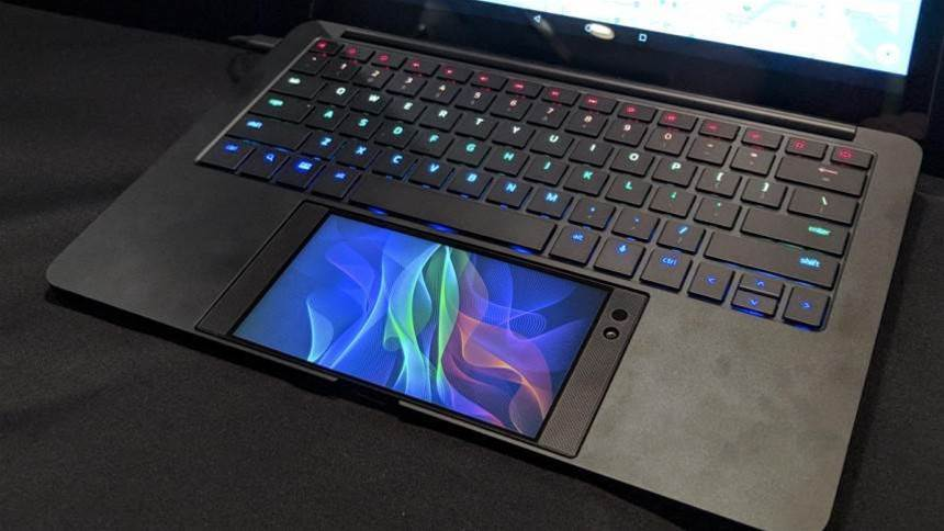 Razer wants to turn your smartphone into a gaming laptop with the crazy Project Linda