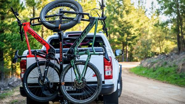 Shingleback's new 2B90 eMTB vertical bike rack