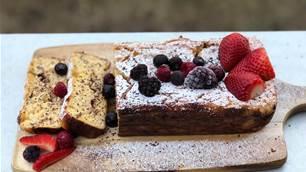 RECIPE: Lemon, Ricotta, Dark Chocolate & Polenta