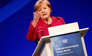 Risky to shut out any 5G provider completely - Merkel