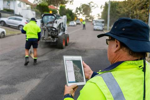 Lake Macquarie council builds road maintenance app