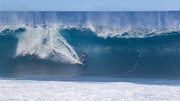 Robbo Thrills as the Show Goes On at Pipe