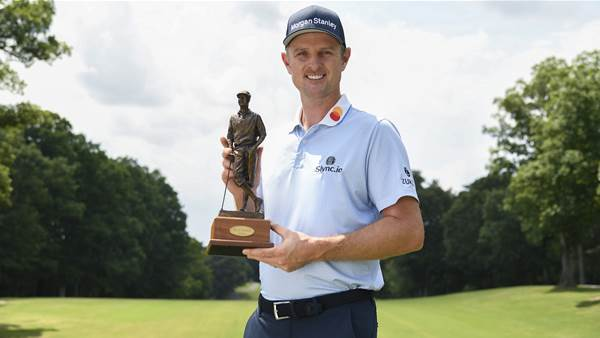 Justin Rose honoured with PGA Tour's Payne Stewart Award
