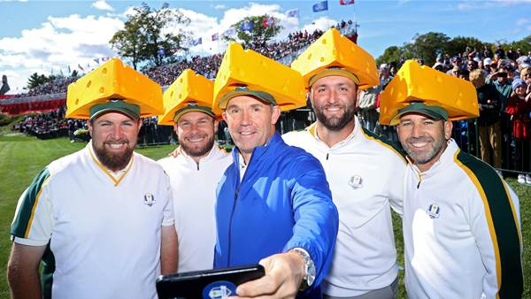 Europe's cheesy strategy to win over Ryder Cup crowd
