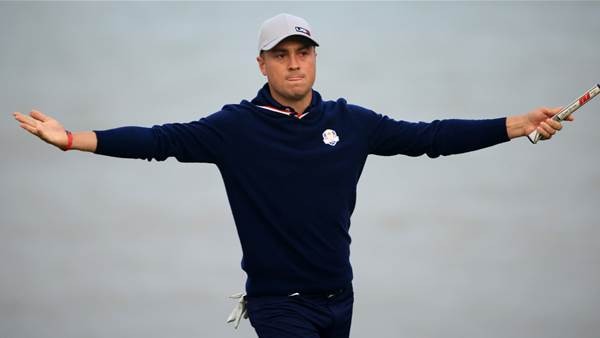 U.S. shock Europe to grab Ryder Cup control