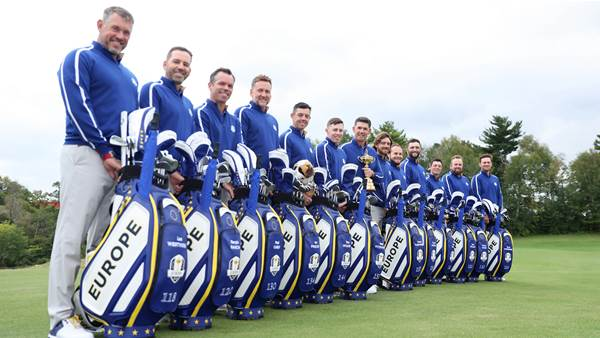 History lesson for Europe's Ryder Cup team