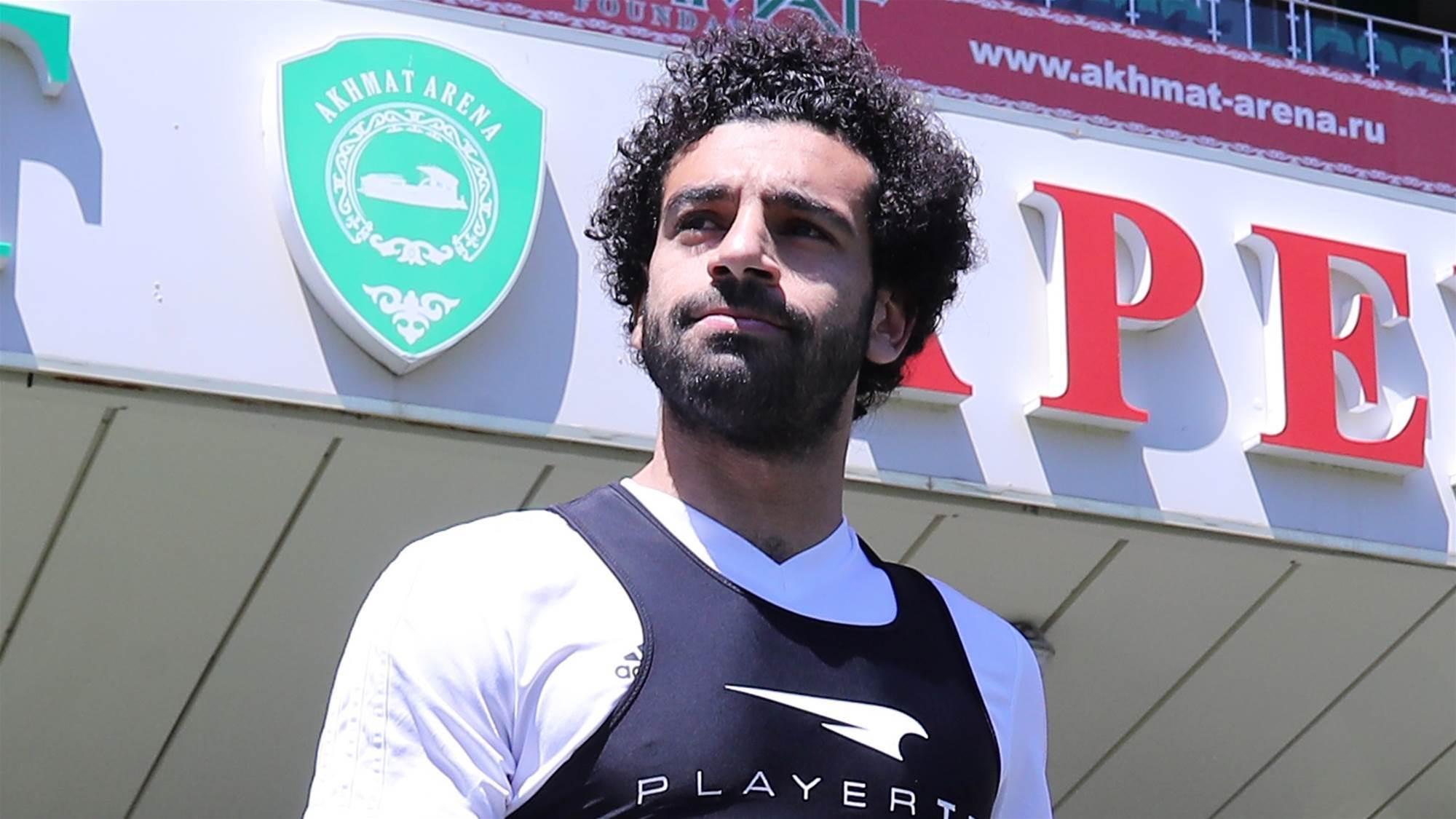 Salah returns! Egypt star is back in training