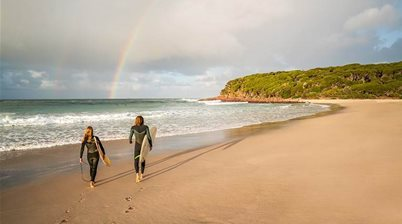 Surfing in New South Wales is fine, you just need to use your brain