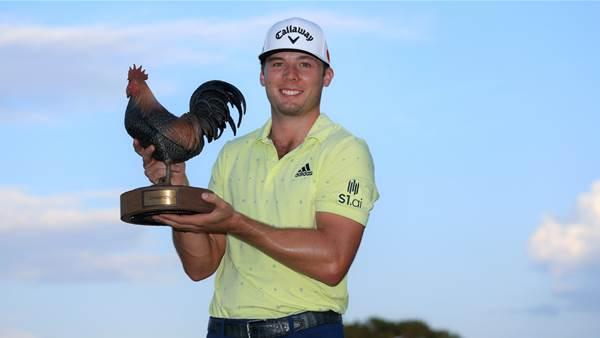 Burns wins second PGA Tour title of 2021
