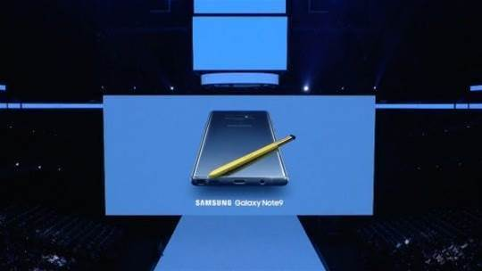 Samsung finally shows us the Note 9