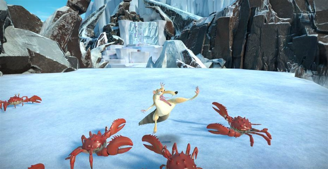 Playing Now: Ice Age: Scrat's Nutty Adventure