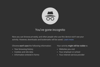 Google tracks user data even when they go 'Incognito'