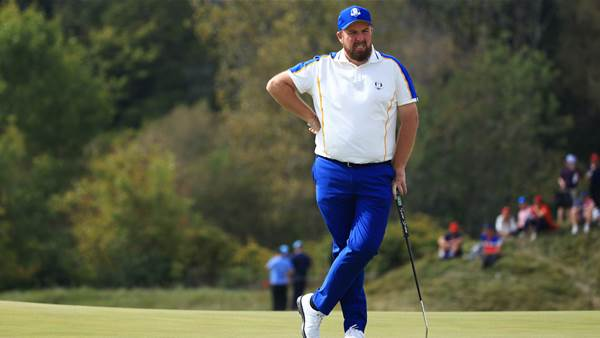Lowry's wife abused by Ryder Cup fans