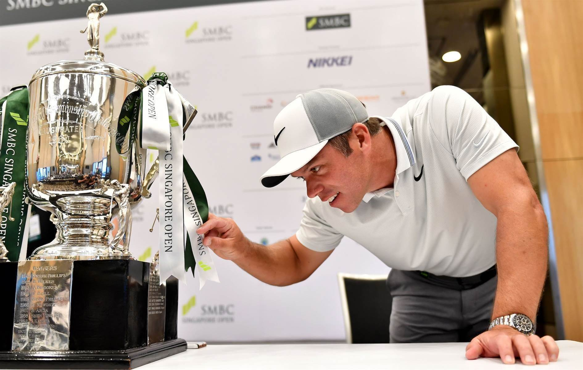 ASIAN TOUR: Casey wary of local threat at Singapore Open