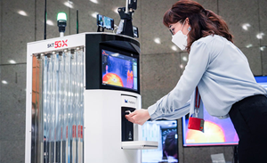 SK Telecom delivers world's first 5G 'virus-killing' and disinfection robot
