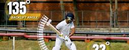 Cricket bat sensor whacks data for six
