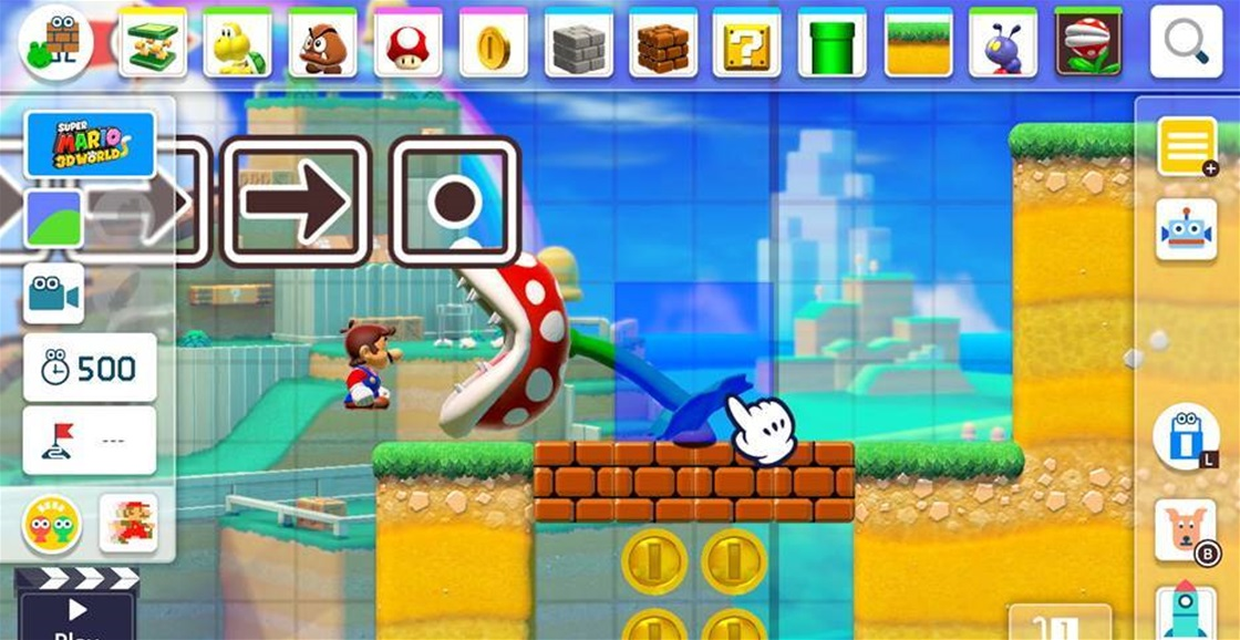 Super Mario Maker 3DS Cheats (Weird Mario, Worlds and Edamame)