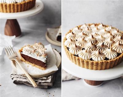 no-bake s'mores tart