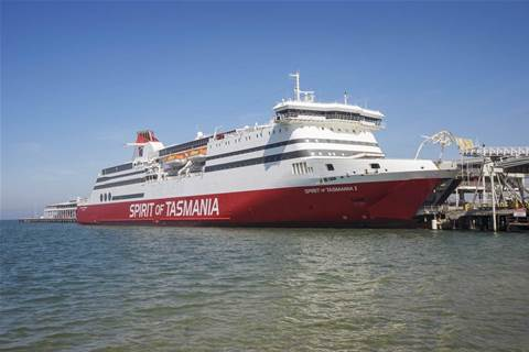 Spirit of Tasmania brings satellite internet to Bass Strait