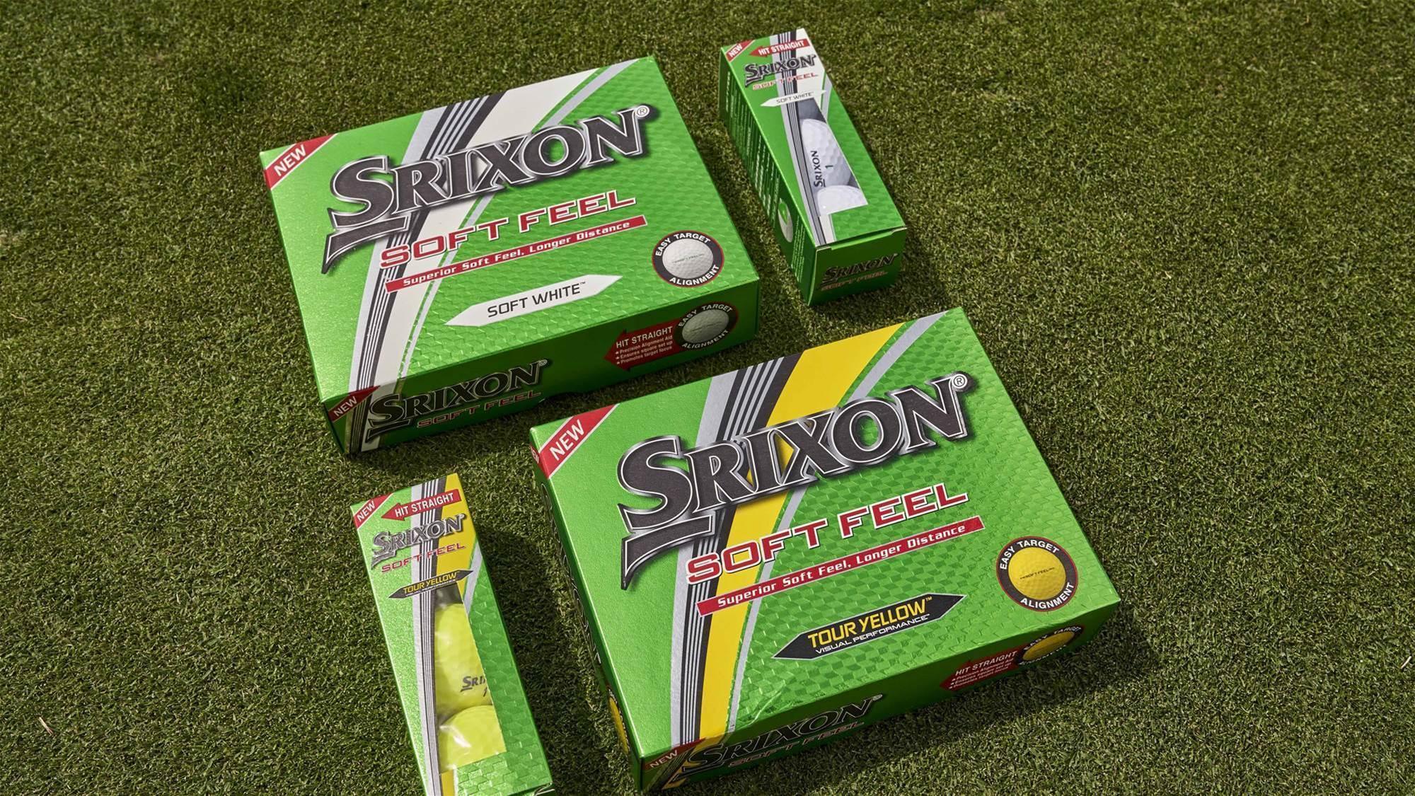 Srixon releases new Soft Feel and UltiSoft golf balls