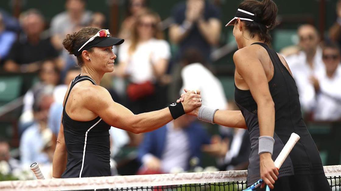 Aussies Exit French Open