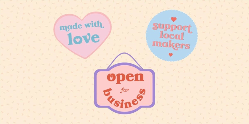 download these small business stickers for instagram