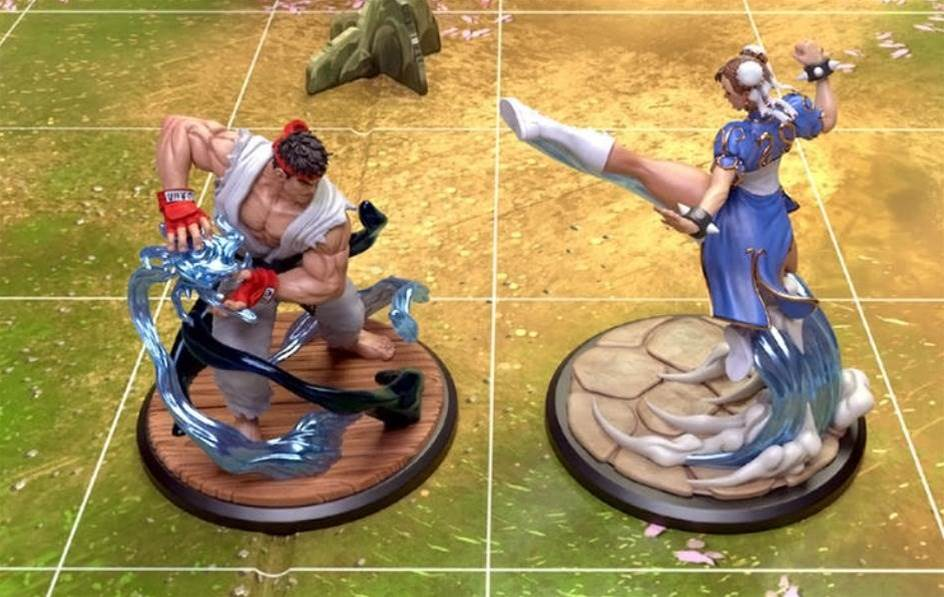 Street Fighter: The Miniatures Game brings the classic brawler into the real world