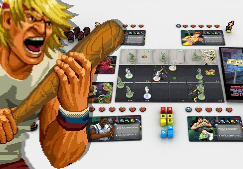 Streets of Steel is a side-scrolling 1980s brawler reimagined as a tactical boardgame