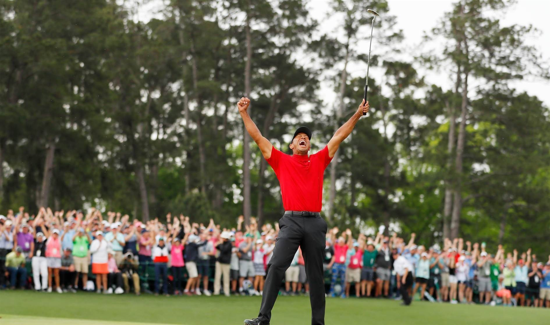 Tiger masters Augusta for the fifth time