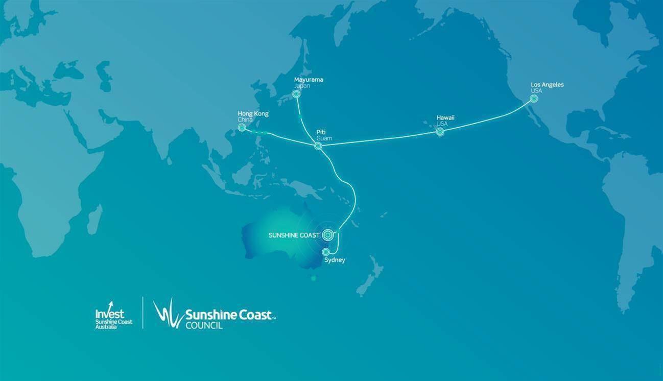 Sunshine Coast secures subsea cable landing