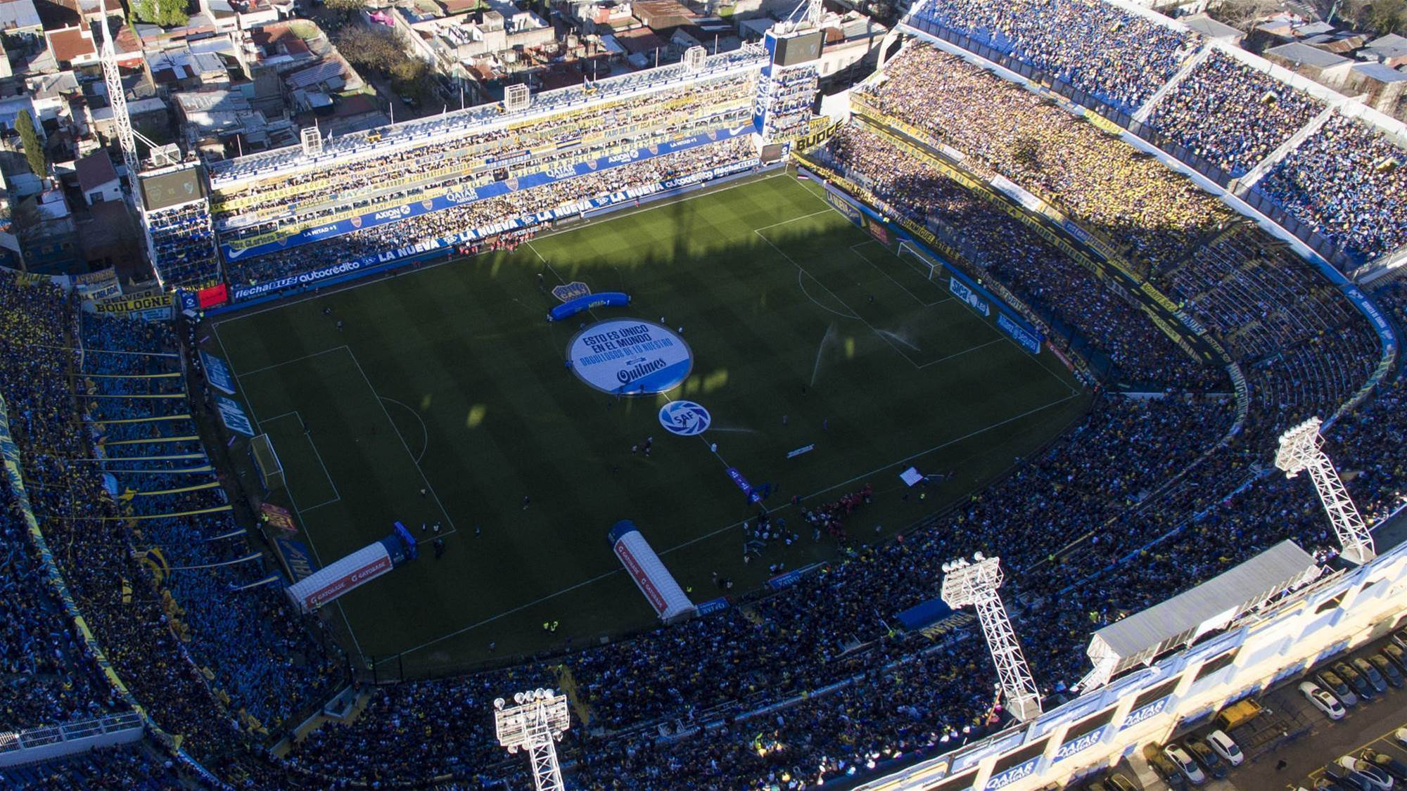 Away fans banned from Superclasico Libertadores final