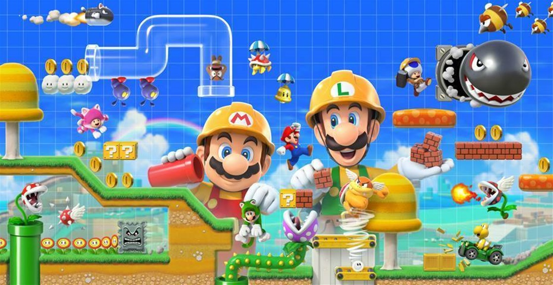 Playing Now: Super Mario Maker 2