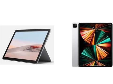 Microsoft Surface Go 2 vs Apple iPad Pro (M1)