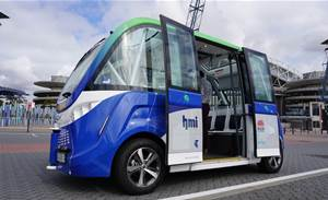 Sydney's driverless shuttle opens to first passengers