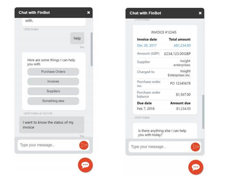 Sydney Uni chatbot speeds up finance admin