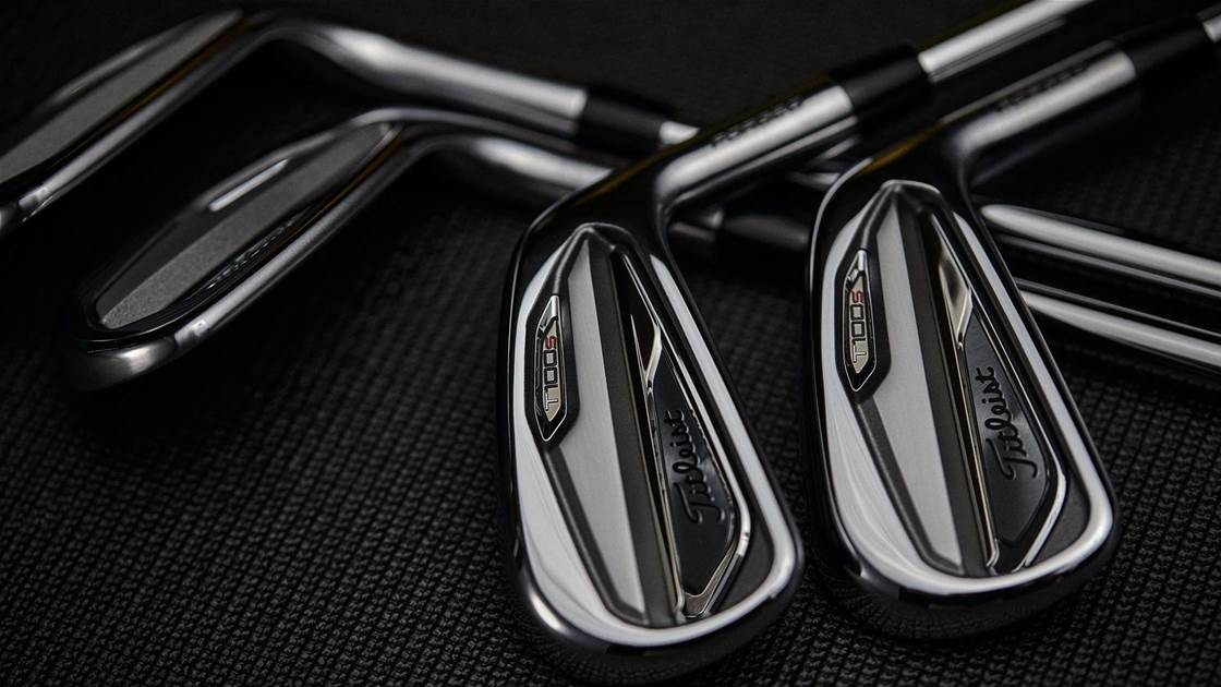 New Titleist T100•S irons add distance to precision